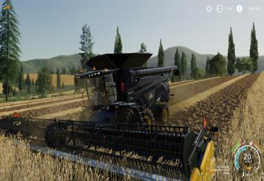 AGCO IDEAL 9 Combine By Stevie