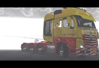 BAUMANN SKINS FOR MB ACTROS MP4 1.36.x
