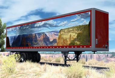 Canyon Art Trailer skin v1.0