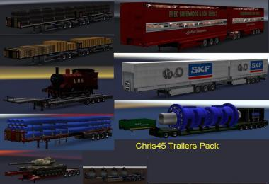 Chris45 Trailer Pack (Mostly UK Trailers) v9.16