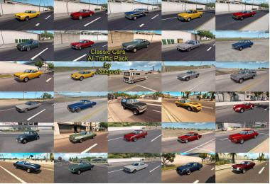 Classic Cars AI Traffic Pack by Jazzycat v5.2