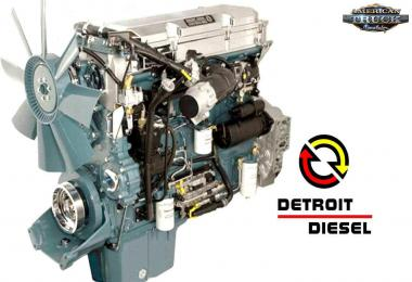 Detroit Series 60 Engines Pack v1.0 1.37.x