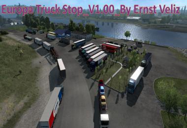 Europa Truck Stop v1.0 By Ernst Veliz
