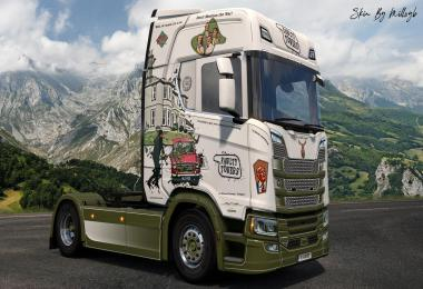 Fawlty Towers NG Scania Skin v1.0