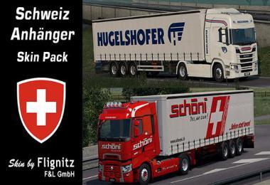 Flignitz CH Trailers skinpack v1.0