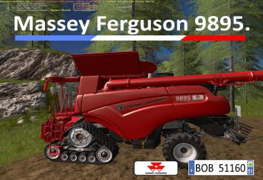 FS17 Pack MF 9895 By BOB51160 v1.0