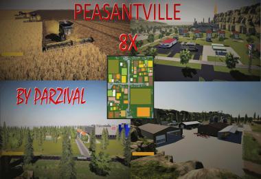 FS19 Peasantville 2 8X Production v1.6