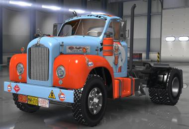 Gufl pin-up skin for Mack B62 v1.0