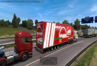 Krone Doubledeck Trailer in traffic 1.36 & up