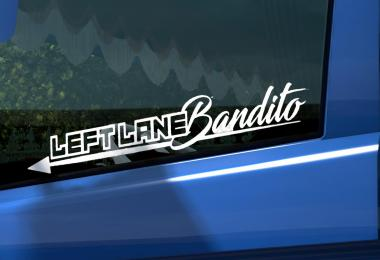 Leftlane Bandito Sticker for Glass 1.36.x