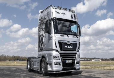 Man Tgx Euro 6 Real D38 Engine Sound V6 1.36