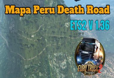 Mapa Peru Death Road 1.36.x