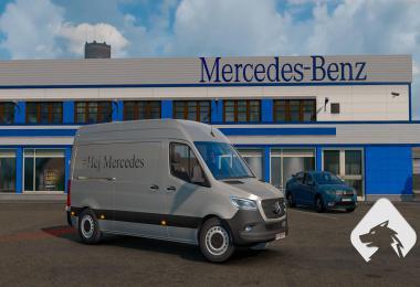 Mercedes Sprinter 2019 BETA v0.1 1.36
