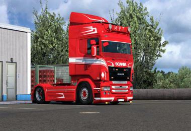 MPT style paintable skin for Scania RJL v1.0