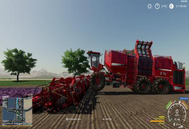 Multi Fruit harvester v3.0