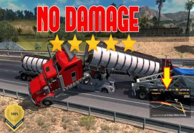No damage to the truck 1.37