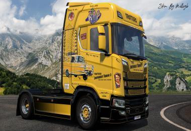 Only Fools & Horses NG Scania Skin v1.0
