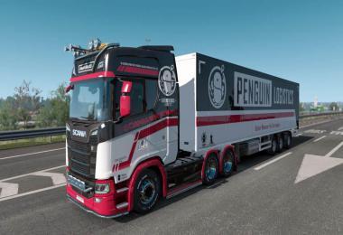 Penguin Logistics skipack for Scania S v1.0