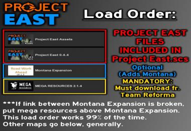 Project East v0.4.6 - Idaho & Wyoming