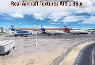 Real Aircraft Textures ATS 1.36.x