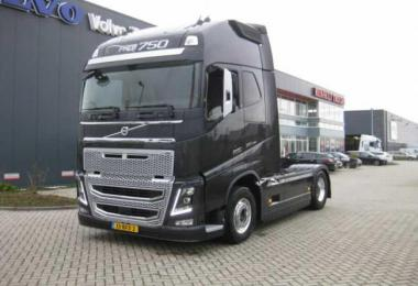 Real D16 Engine Sound For Volvo FH 2012 V2 1.36