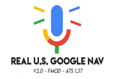 Real US Google Nav For ATS v2 1.37.x