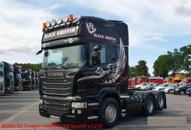 Scania Lepidas V8 Sound v12.0