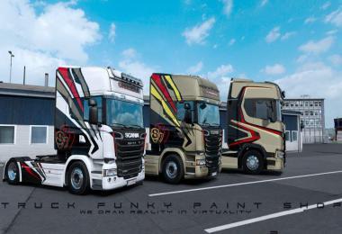 Skinpack Scania Team Chimera Svempa Design 1.36