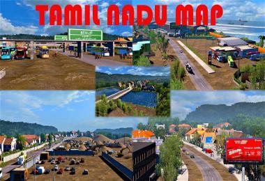 Tamil Nadu Map 1.31-1.35