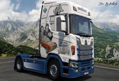 The Sweeney NG Scania Skin v1.0