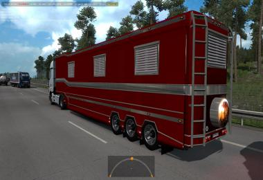 Trailer Caravan in traffic 1.36