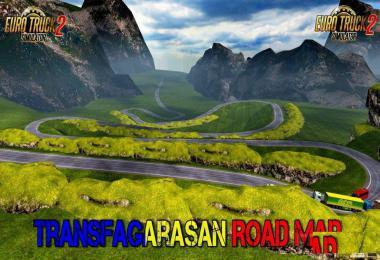 Transfagarasan Map by Traian