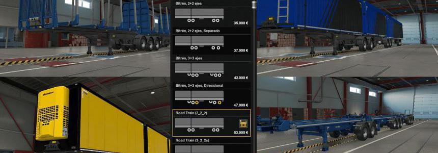 Road Trains MP-SP Multiplayer TruckersMP 1.36.x