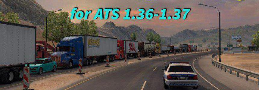 [ATS] Real Traffic Density by Cip 1.37