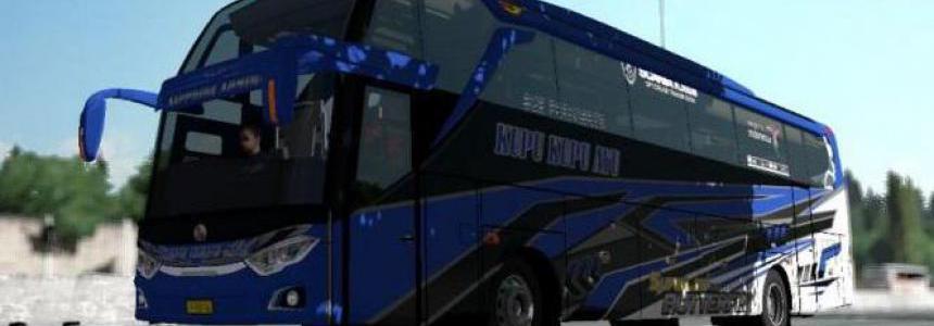 Busses in Traffic Pack by FPS & Reedit Ryzen 1.36.x