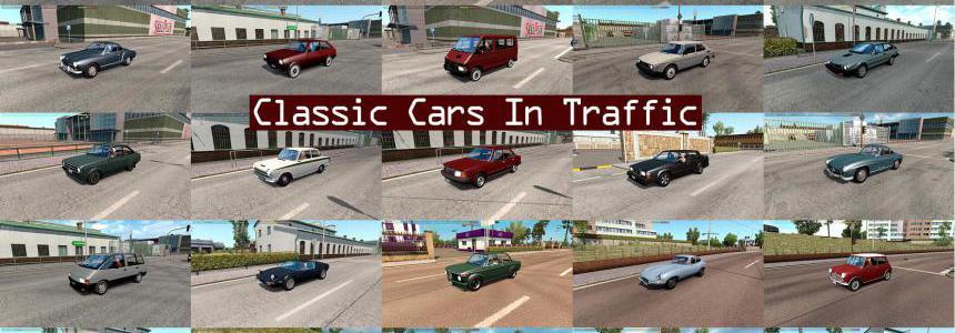 Classic Cars Traffic Pack by TrafficManiac v4.6