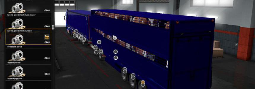 Combined Livestock Trailer Owned v1.0