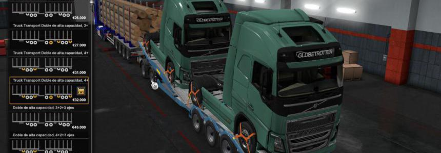 Combined Truck Transporter Trailer Owned v1.0