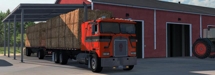 Flatbed Truck and Trailer Add-on for K100E v1.4