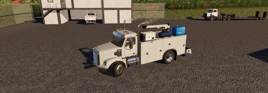 Freightliner Service Truck v0.1