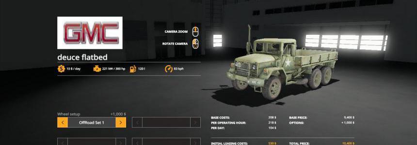 GMC M35 Deuce and a Half v3.0
