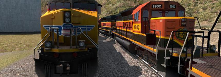 Improved Trains  v3.4 for ATS 1.37.x