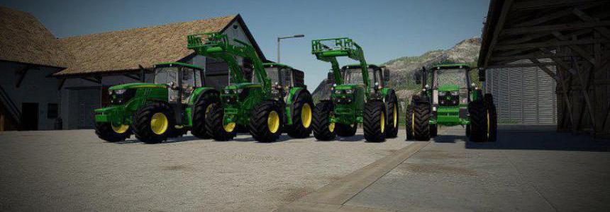 John Deere 6M Series ABG-EDITION v1.0