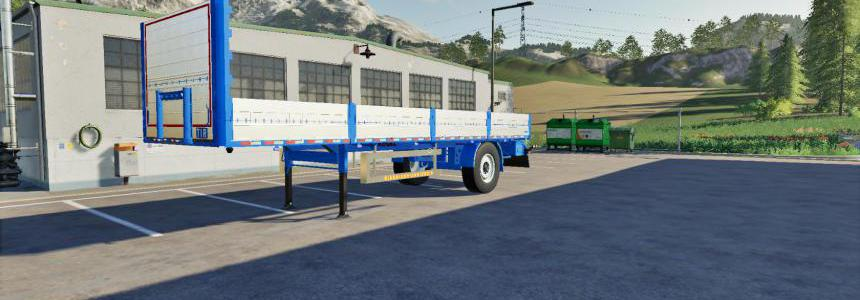 Kogel Autoloader Semitrailer 10m FS19 v1.0