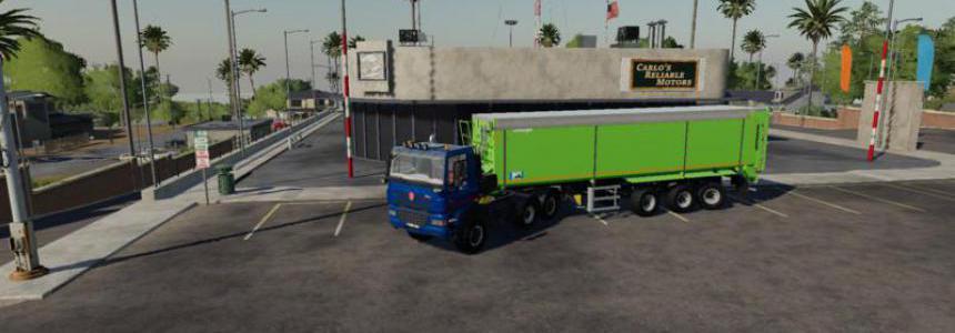 Krampe SB 3060 + Phonix 6x6 Agro Truck v1.2.1