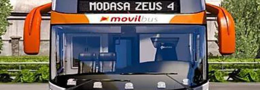 Modasa Zeus 4 6x2/8x2 Man for ETS2 & ATS 1.36