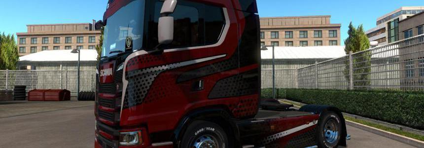 Phoenix Skin for Scania S v1.0