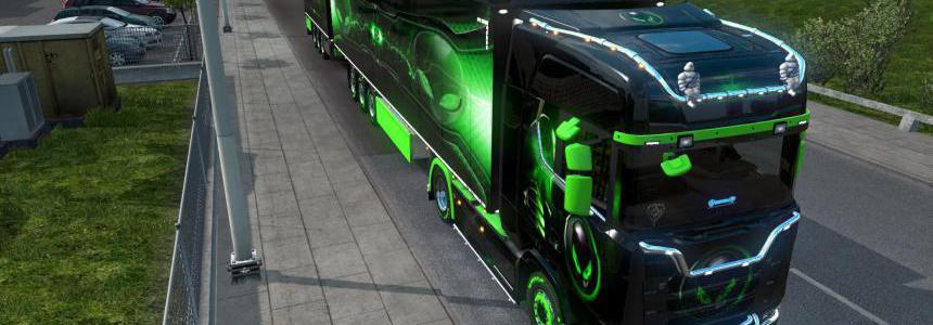 Scania AlienWare pack 1.36
