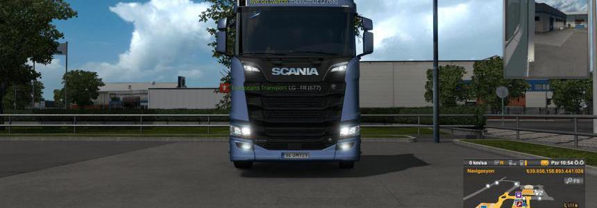 Scania R 2016 Fog Lights (MP) 1.36.x
