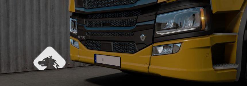 Scania R/S Registration Plate V2 1.36